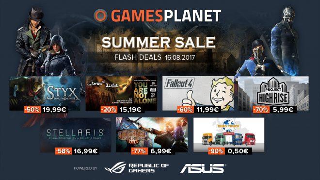 Le troisième jour des soldes d'été s'annonce particulièrement intéressant pour les gamers en mal de jeux. RPG, FPS, Simulation et plus encore Toujours dans le rythme des soldes, le revendeur de clés Steam Gamesplanet va faire plaisir à la communauté des joueurs en manque de jeux et de nouveautés. Parmi la sélection du jour et […]