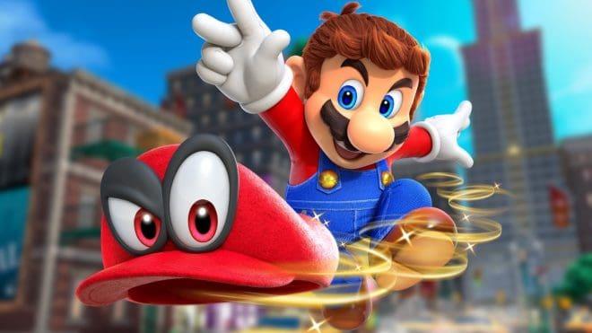 Du gameplay pour Super Mario Odyssey à la Gamescom 2017.