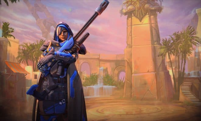 Ana dans Heroes of the Storm