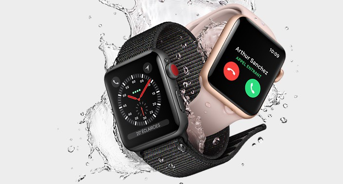 apple watch iphone apple series 3 la montre enfin compatible 4g pour 6350