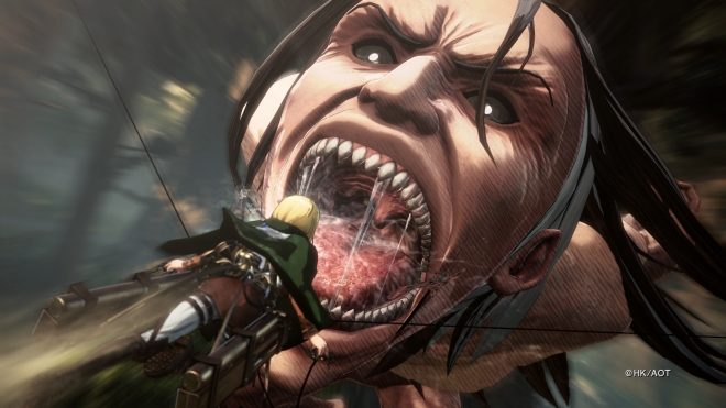 Attack on Titan 2 sera commercialisé sur PS4, Xbox One, Nintendo Switch et PC.
