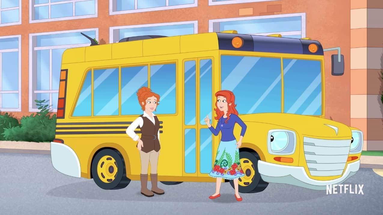 le bus magique un premier trailer pour le reboot par netflix. Black Bedroom Furniture Sets. Home Design Ideas