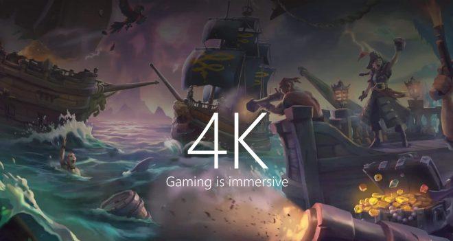 Microsoft s'associe avec Samsung pour la 4K et la Xbox One X.