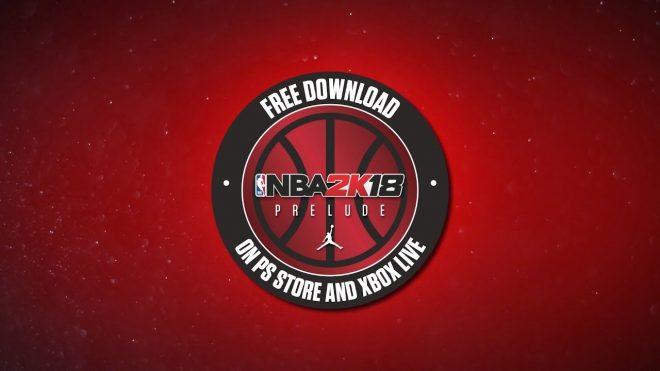 Prélude, la démo de NBA 2K18, est disponible.