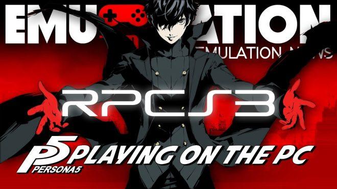 Persona 5 émulé sur PC, Atlus contre-attaque.