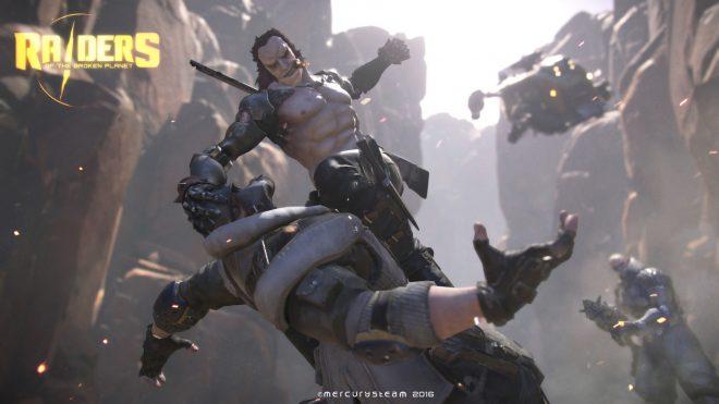 Raiders of the Broken Planet débarque sur PS4, Xbox One et PC.