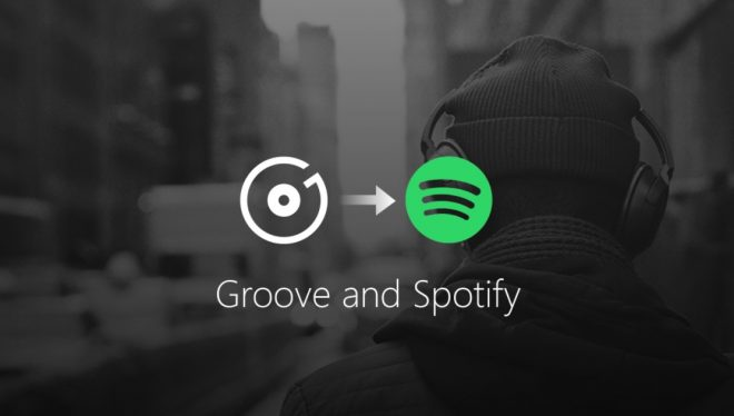 Groove migre vers Spotify