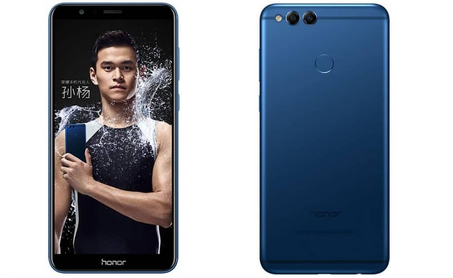 Honor 7x au programme un cran 18 9 borderless et un for Photo ecran honor 7