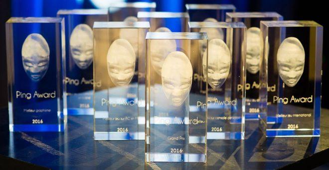 Les jeux vidéo 2017 nommés à la 5e cérémonie des Ping Awards sont connus.
