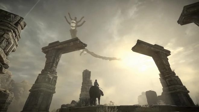 Le remake de Shadow of the Colossus s'offre une nouvelle bande-annonce à la  Paris Games Week 2017.
