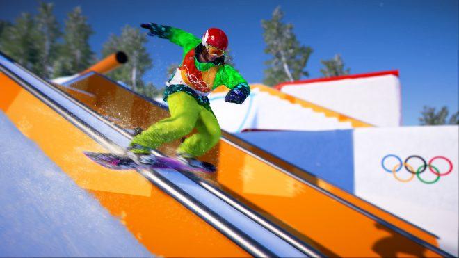 Des athlètes professionnels internationaux dans le mode histoire de Steep : En route pour les Jeux Olympiques.