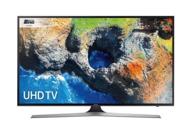 """Samsung TV Led 55"""" 4K Smart TV"""