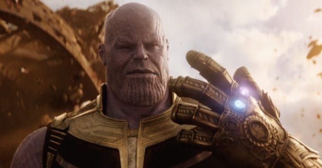 Thanos, dans Avengers: Infinity War