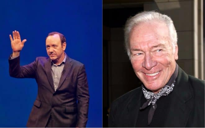 Kevin Spacey et Christopher Plummer