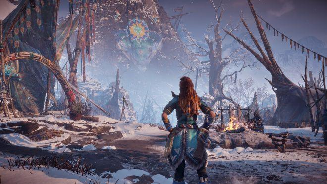 Une nouvelle bande-annonce pour Horizon Zero Dawn : The Frozen Wilds à la Paris Games Week 2017.