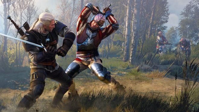 The Witcher premier du nom rencontre le moteur graphique REDengine 3 du troisième opus de la licence.