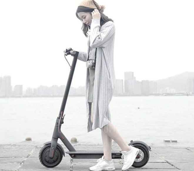 La trottinette électrique pliable Xiaomi