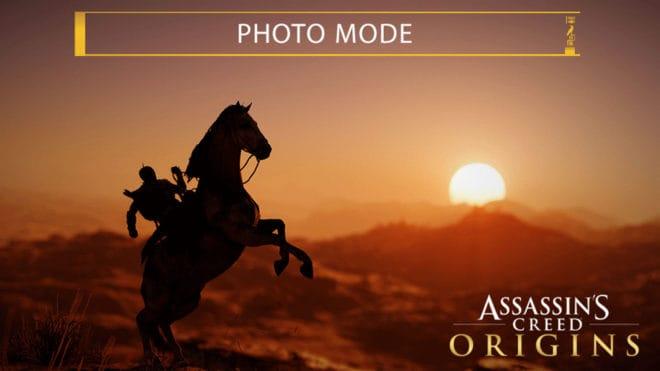 Le mode photo d'Assassin's Creed Origins fait sensation.