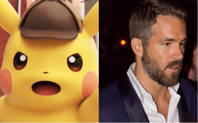 Ryan Reynolds sera Detective Pikachu