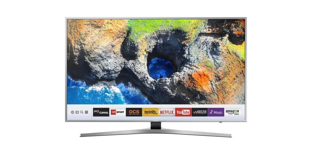 samsung ue55ku6450 une smart tv 4k de 55 649. Black Bedroom Furniture Sets. Home Design Ideas