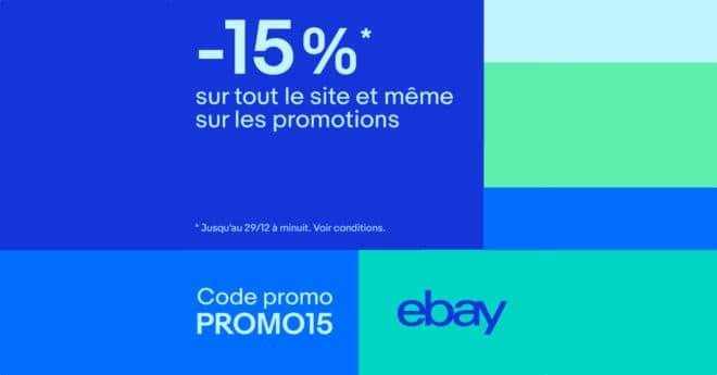 eBay offre 15% de réduction sur l'ensemble de son site le 28 et 29 décembre, bons plans inclus, pour 50€ d'achat minimum. La réduction totale applicable est de 40€ maximum. Drones, casques audio et jeux vidéo Les promotions eBay permettent de mettre la main sur une flopée de matériel high-tech avec une réduction qui devient […]