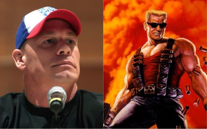 John Cena en Duke Nukem ?