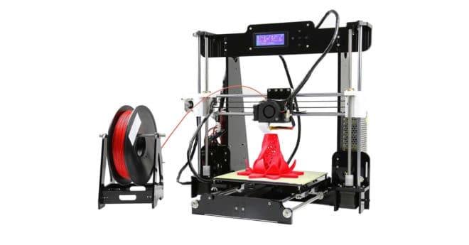 Si les Raspberry Pi sont indissociables des bidouilleurs en informatique, les imprimantes 3D sont elle indissociables des FabLab et des Makers Space. Les possibilités d'application étant théoriquement infinies, la seule chose nécessaire outre l'imprimante, c'est un peu d'imagination. Do-it-yourself du début à la fin L'imprimante ANET A8 dispose d'un cadre en acrylique découpé au laser […]