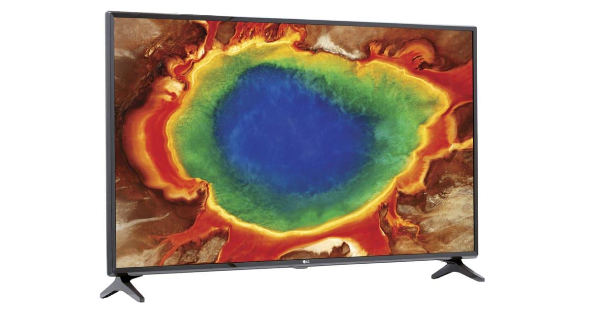 lg 49uj630v une tv 4k de 49 449 avec odr. Black Bedroom Furniture Sets. Home Design Ideas