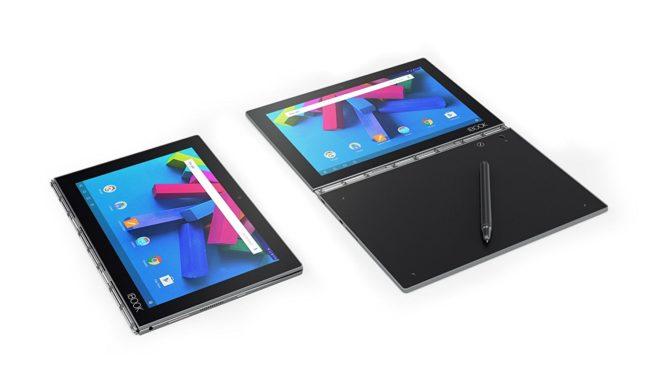 Une tablette 2-en-1 comme vous n'en avez jamais vu, la Lenovo Yoga Book a des arguments frappants pour convaincre. Capable de Quatre modes d'opération La Yoga Book convertible est dotée de 4 modes : un mode de création avec une ouverture à plat pour prendre des notes et dessiner sur écran ou papier avec le […]