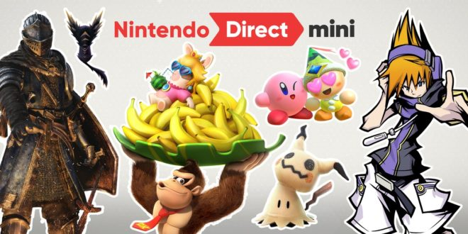 Nintendo Direct Mini de janvier 2018