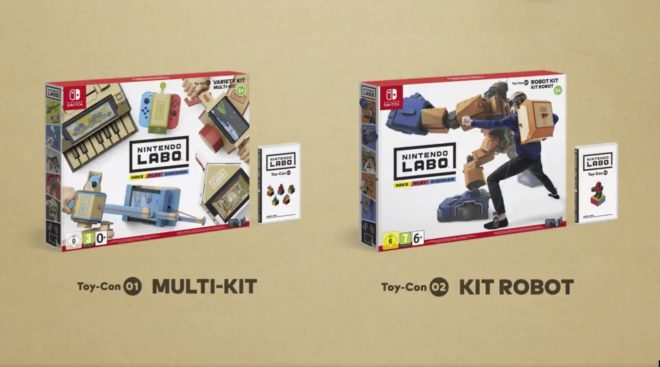 Les Toy-Con du Nintendo Labo sont les nouveaux accessoires de la Nintendo Switch.