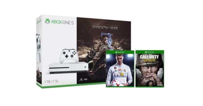 La firme de Redmond offre une réduction de 69€ sur des packs dès aujourd'hui et jusqu'au 10 février. De un à 6 jeux inclus Pour bien commencer le weekend, Microsoft lance une offre qui devrait plaire à tous les joueurs. Celle-ci permet de mettre la main sur différents packs Xbox One qui comprennent plusieurs jeux, […]