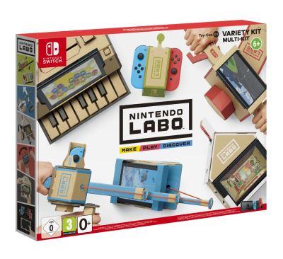 Il y a quelques jours, Nintendo nous avait fait découvrir une vidéo teaser de son nouveau concept de jeux vidéo Nintendo Labo. Des accessoires en carton à construire pour accompagner le jeu. Un excellent compromis entre activités manuelles et jeu vidéo qui ravira autant les enfants, que les parents. Tatsumi Kimishima a indiqué sur le […]