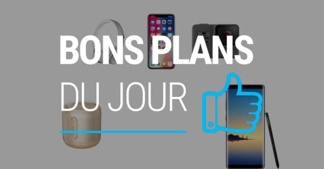Les meilleures offres Lancé au tarif de 1009€, le Galaxy Note 8, dernier smartphone ultra haut de gamme du fabricant coréen, bénéficie d'un réduction de plus de 850€ auprès de l'opérateur Français. L'opérateur offre ainsi 100€ de remise immédiate sur le mobile, faisant passer le smartphone à 279 euros au lieu de 379€. Deux offres […]