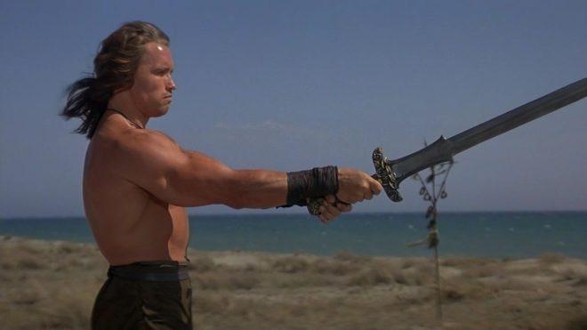 Arnold Schwarzenegger dans Conan le Barbare (1982)