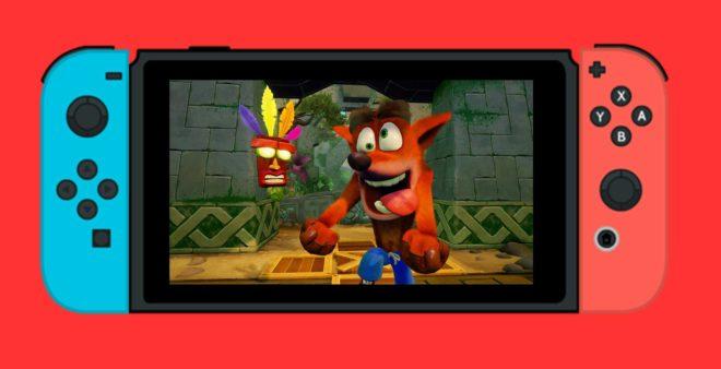 Crash Bandicoot N.Sane Trilogy devrait sortir sur Nintendo Switch et PC dès cette année.
