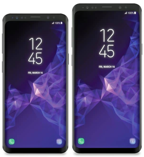 Le Samsung Galaxy S9 et S9+