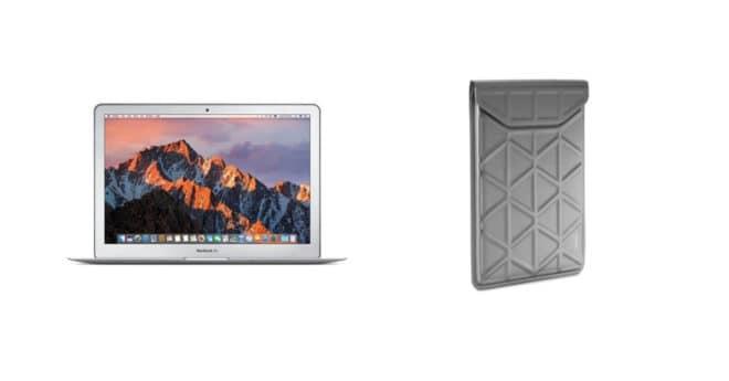 LeMacBook Air soldé dispose de la fiche technique classique qui fait le succès de l'ultra-portable d'Apple, à savoir un SSD PCIe embarqué de 128 Go qui offre des vitesses de lecture/écrite dépassant le 1000 Mo/s. Légèreté et performance Côté processeur, on est sur un Intel Core i5bi-cœur 1.8 GHz (2.9 GHz TurboBoost), accompagné de 8 […]