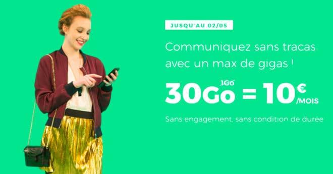 Le prix reste le même, la data change : ce pourrait être le slogan du MVNO de SFR, qui relance son offre sans engagement facturée 10 euros, quelque soit le montant de data. Ce mois-ci cependant, exit les 5, 10 ou 20 gigas, le forfaitRED eninclus 30. Des gigas dédiés au roaming RED by SFR […]