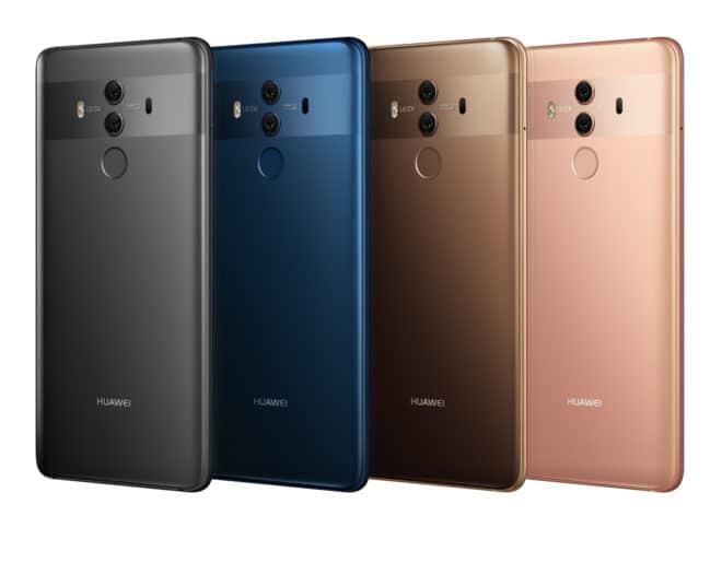 Image d'illustration d'un téléphone Huawei