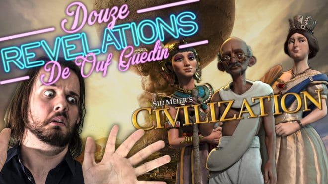 12 RÉVÉLATIONS DE OUF GUEDIN SUR CIVILIZATION