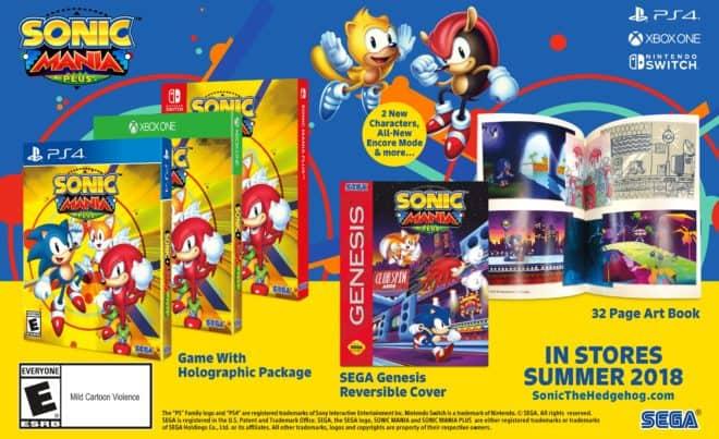 Sonic Mania Plus officialisé