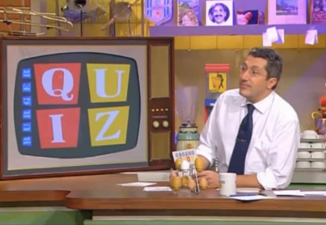 Le Burger Quiz bientôt de retour avec Alain Chabat