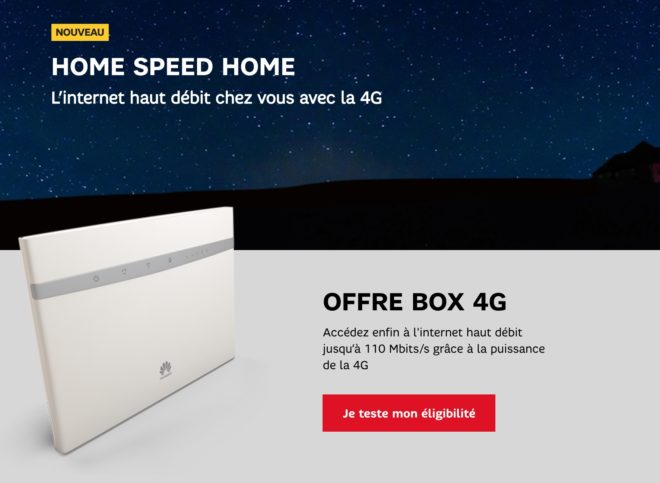 SFR 4G BOX