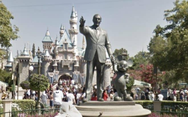 Des parcs Disney dans Street View