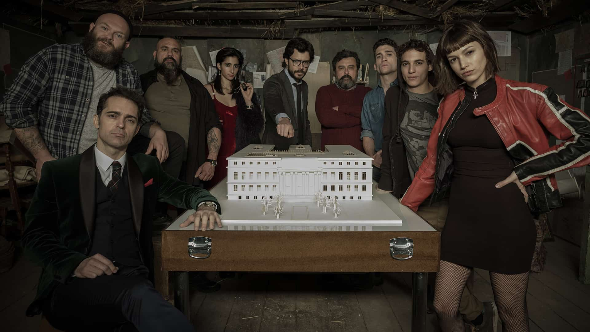 la casa de papel la tension monte dans le trailer de la partie 2 venir sur netflix. Black Bedroom Furniture Sets. Home Design Ideas