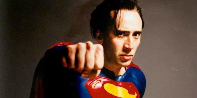 Nicolas Cage en Superman pour Superman Lives