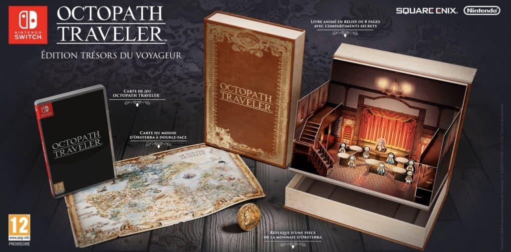 L'édition Trésors du voyageur d'Octopath Traveler
