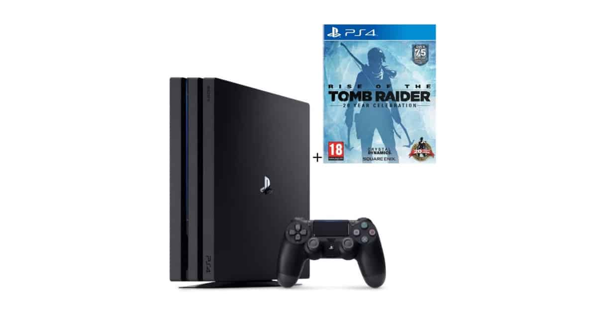 Cdiscount : PS4 Pro 1To + Rise Of The Tomb Raider (20e Anniversaire) à 399€