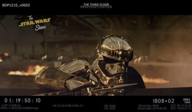 Capitaine Phasma dans Star Wars 8